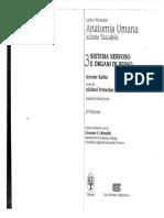 Kahle-Anatomia Umana 3 Atlante Tascabile - Sistema Nervoso e Organi Di Senso