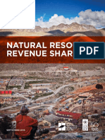 Natural Resources Revenue Sharing