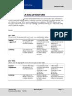 02 Participant Self Evaluation