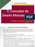 DMIII. 3 Diseño Metodológico