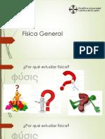 Física General Clase Introductoria Tema 1