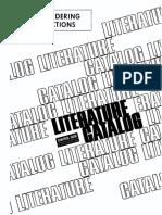 CDC Literature Catalog 1975
