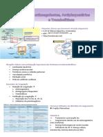 Antiplaquetários, Anticoagulantes eTrombolíticos
