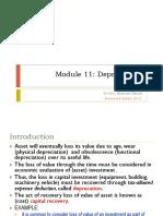 11. Model 11 Depreciation