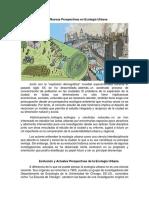 Ecología Urbana