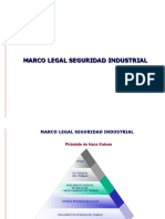 Seguridad Industrial, Marco Legal