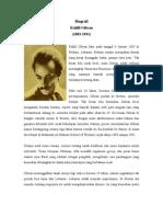Biografi Kahlil Gibran (Remidi)