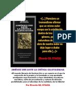 Gil Otaiza Con Reflexiones Sobre Su Crítica (2018)
