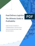 Routific Food Delivery eBook