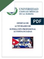 Ofertas de Superación Profesional UCMH Autofinanciados