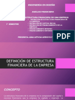 estructura financiera de una empresa