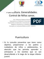 Clase Puericultura y Control de Niños Sanos 2018
