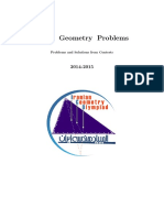 Iranian Geometry Olympiad 2014 - 2016 en With Solutions