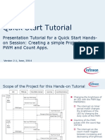 DAVE Creating a simple Project using PWM and Counter APPs.pdf