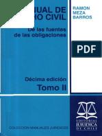 Obligaciones Ramon Meza Barros