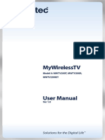 MyWirelessTV User Manual 1011