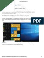 2-Ajuste de Microsoft Project
