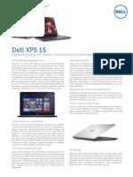 Dell Xps 15 Brochure