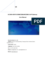 Uc2000-Vegsm Cdma Wcdmavoipgatewayusermanualv2.2