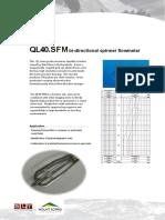 QL40-SFM Data Sheet