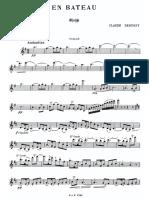 (1fl+pno) 3º G.E. - Debussy - En Bateau - Violin