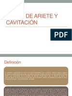 Golpe de Ariete y Cavitación