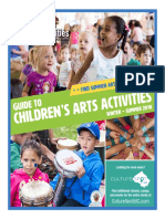 Guide to Children's Arts Activities Winter to Summer 2018