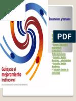 Indice de Documentos Guia de Mejoramiento 2008