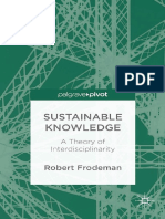 Robert Frodeman (Auth.)-Sustainable Knowledge_ a Theory of Interdisciplinarity_ UK (2014).en.es (1)