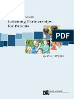 Listening Partnerships for Parents1