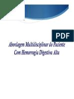 Abordagem Multidisciplinar Hemorragia Digestiva Alta (1)