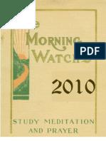 Morning Watch 2010 12 Month Calendar