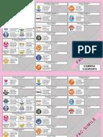 Le schede elettorali per la Camera e il Senato- Facsimile