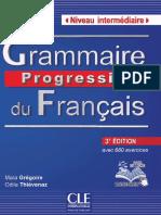 Grammaire Progressive Du Français Niveau Intermediaire