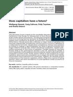 Future Capitalism SER 14 2016 Streeck
