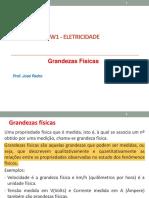 ELEW1 01 - Grandezas Físicas