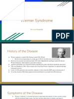 Werner Syndrome