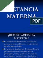 (4)Lactancia Materna