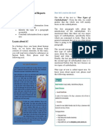 Understanding Factual Reports (Human)