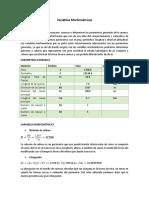 Variables Morfométricas