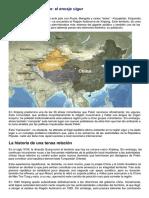 Lo Que China Esconde, El Encaje Uigur-El Orden Mundial en El S.xxi