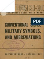 Military symbols and markers