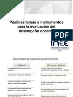 Evaluación Del Desempeño Docente Herramientas-2015