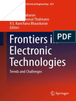 Frontiers in Electronic Technologies Trends and Challenges (Lecture Notes in Electrical Engineering)