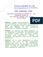 01 - PD 705 - Revised Forestry Law