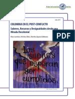 Colombia en El Postconflicto