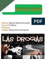 Las Drogas Disertación Ignacio Retamal