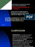 Recursos Ordinarios y Extraordinarios en El Proceso de Buenos Aires