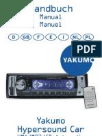 Yakumo Hypersound Manual Spanish