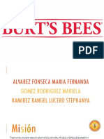 Burts Bees Present Ac i On